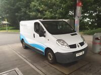 Renault trafic 2008, mot Dec. 147k, drives great , immaculate. Air con electric Windows £2800