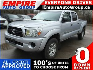 2011 TOYOTA TACOMA V6 | 4WD | REAR VIEW CAMERA | POWER WINDOWS