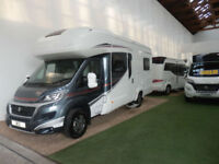 AUTOTRAIL IMALA 715 / 6 BERTH / FRENCH BED / ONLY 3500KG / AIR CON /