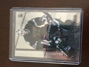 Certified Ed Belfour autograph hockey card
