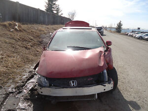 HONDA CIVIC COUPE FOR PARTS
