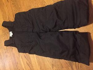 Boys black snow pants