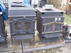 Two Wood Stoves  Woodstoves