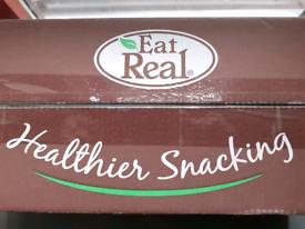 Wholesale/Joblot Eat Real Quinoa crisps