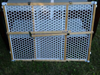 wood Security gate - removable