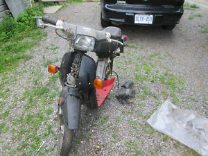 parting out my 1986 honda nq50 spree