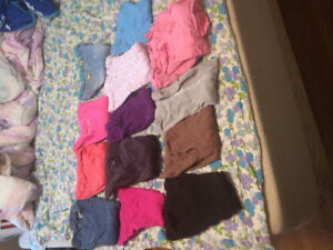 13 pairs of girl's pants