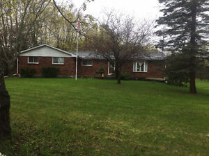 4 Bedroom Brick Bungalow on approx 14 acres with small Barn