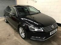 Vw Passat 2.0 Tdi Blue Motion Start Stop Dsg Auto, *1 Owner* Dab, Paddle Shift, Bluetooth, Warranty