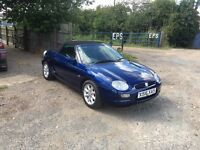 A lovely little mg f 28 thousand miles