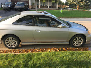 2002 Manual Honda Civic -AS IS - 360,000km