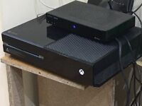 Xbox one console with COD and 1 controller
