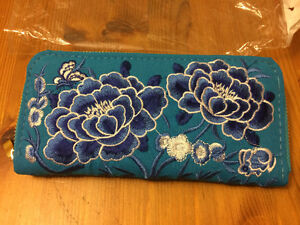 Beautiful embroidered Chinese wallet