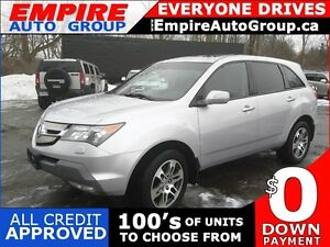 2007 ACURA MDX TECH PACKAGE WITH NAVI AND DVD