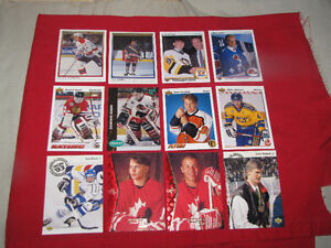 Over 60 Hockey Rookie cards from the late 1980s & early 1990s