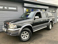 Ford Ranger 2.5TDdi XLT Thunder Double Cab **NO VAT - LEATHER - CANOPY**