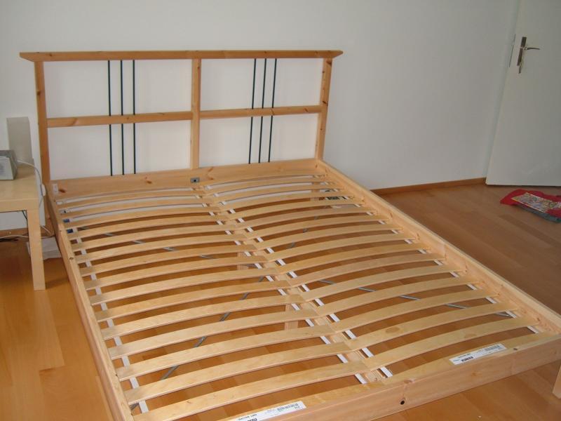 Ikea Sultan Lade Queen Bed