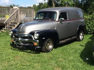 55 chev delivery truck