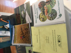 Organic agricultural books