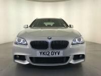 2012 BMW 520D M SPORT AUTOMATIC DIESEL ESTATE 184 BHP SAT NAV SERVICE HISTORY