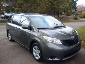 2012 Toyota Sienna CE with low mileage