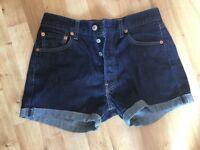 Levi's jean shorts size 10 (W 30)