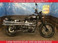TRIUMPH SCRAMBLER BONNEVILLE 865 LOW MILES ONLY 1178 1 OWNER 2015 65