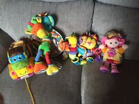 Lamaze toys for little ones - perfect condition