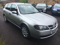 2006 Nissan Almera 1.5 Petrol, Silver 5 Doors, Only 75k,12 Mot comes with PRIVATE PLATE worth £400