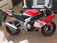 Rieju RS3 125 super sport motorbike like YZF R125 (2013 ) spares or repair