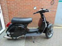 2016 (16) LML STAR 125 4T MANUAL- RETRO STYLE SCOOTER