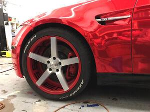 vossen rim for bmw3/5 series plus falken sports tire,brand new