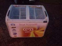 Walls ice cream display freezer