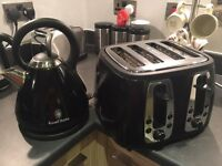 Russel Hobbs set - Kettle and Double Toaster