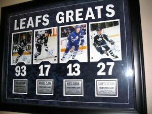 Maple Leafs Greats -Custom Frame