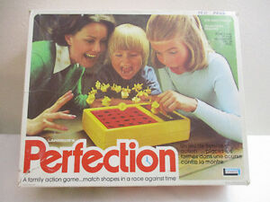 Vintage 1975 Perfection Game