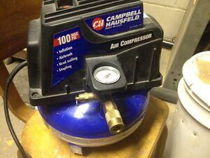 Campbell Hausfeld 1 gallon 100psi air compressor
