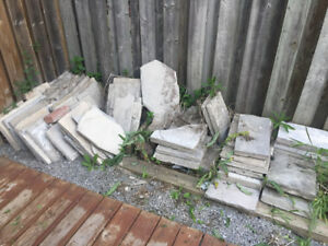 Patio stones for sale $175 OBO