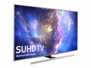 "Samsung 4K SUHD (QLED) 3D 55"" Smart Tv"