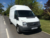 2013 63 FORD TRANSIT 2.2 TDCI 125BHP EURO 5 350 LWB HIGH ROOF 1 COMPANY OWNER
