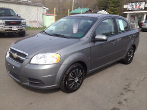 2009 CHEVROLET AVEO, CALL 832-9000 OR 639-5000.