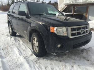 2008 Ford Escape 4x4
