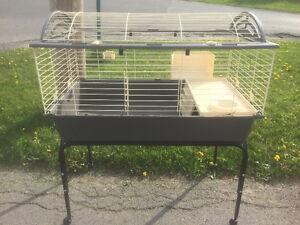 Cage pour lapin, cochon d'inde, hamster ou hérisson