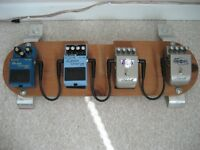 COMPLETE LOADED PEDALBOARD
