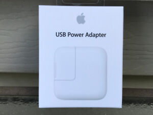 Genuine OEM Apple A1401 iPad 12W power adapter/charger MD836LL/A