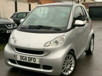 2011 smart fortwo coupe Passion mhd 2dr Softouch Auto [2010] Coupe Petrol Automa