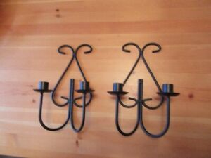 CANDLE HOLDERS - METAL (lot # 1) - REDUCED!!!!