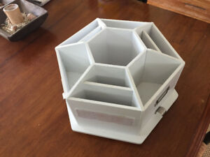 Desktop Craft Storage Carousel
