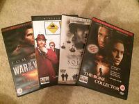 4 DVD movies - various