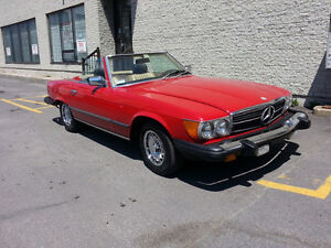 Mercedes Benz 1985, 380 SL